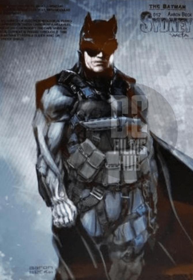 More Justice League Mortal Batman Concept Art Batman On Film